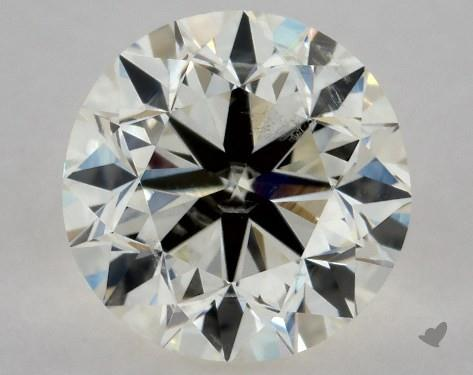 0.70 Carat K-SI2 Very Good Cut Round Diamond