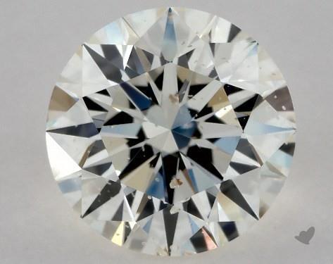 0.71 Carat K-SI2 Excellent Cut Round Diamond