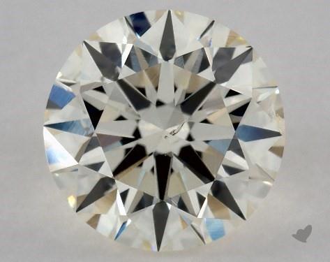 0.73 Carat L-SI2 Excellent Cut Round Diamond