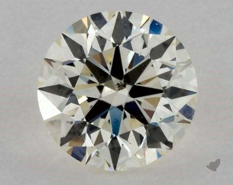 0.70 Carat M-VS2 Excellent Cut Round Diamond