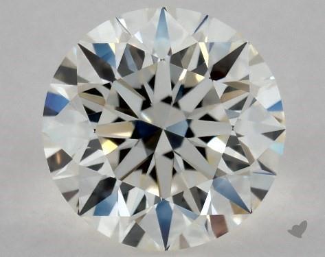 0.70 Carat I-IF Excellent Cut Round Diamond