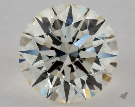 0.70 Carat M-VS2 Excellent Cut Round Diamond