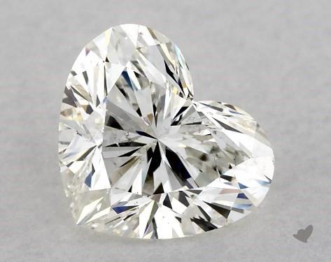 1.51 Carat Heart Diamond by James Allen