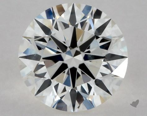 0.93 Carat G-SI2 Excellent Cut Round Diamond