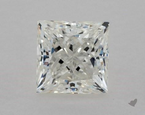 0.72 Carat H-VS2 Ideal Cut Princess Diamond