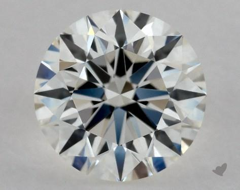 0.86 Carat H-IF Excellent Cut Round Diamond