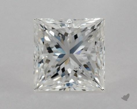 0.70 Carat F-SI2 Ideal Cut Princess Diamond