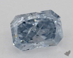 radiant0.41 Carat BLUE
