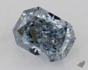 radiant0.23 Carat BLUESI2