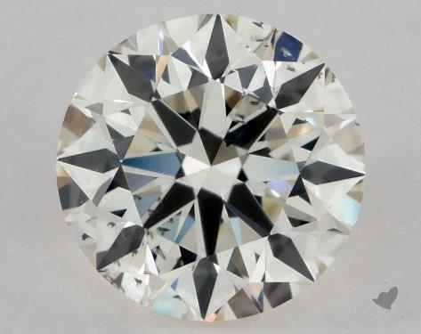 0.70 Carat L-SI2 Excellent Cut Round Diamond