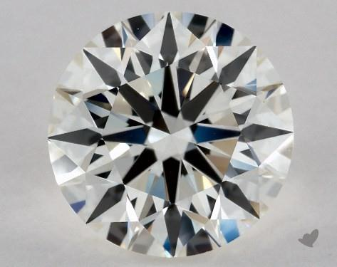 2.21 Carat J-VVS2 Excellent Cut Round Diamond