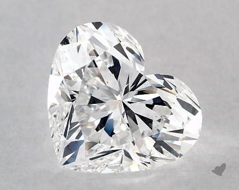 5.01 Carat Heart Diamond by James Allen
