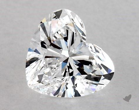 1.02 Carat Heart Diamond by James Allen