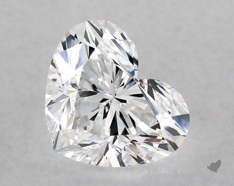 2.01 Carat Heart Diamond by James Allen