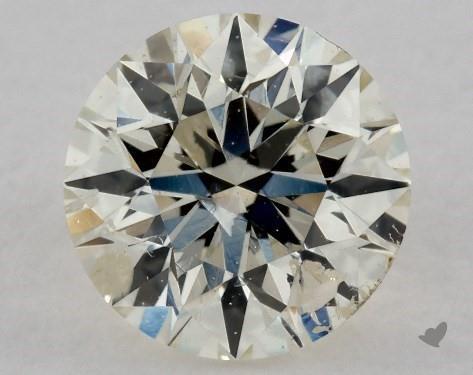 0.70 Carat J-I1 Very Good Cut Round Diamond