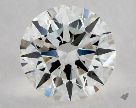 1.00 Carat J-VS1 Excellent Cut Round Diamond