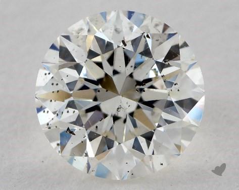 1.01 Carat J-SI2 Very Good Cut Round Diamond