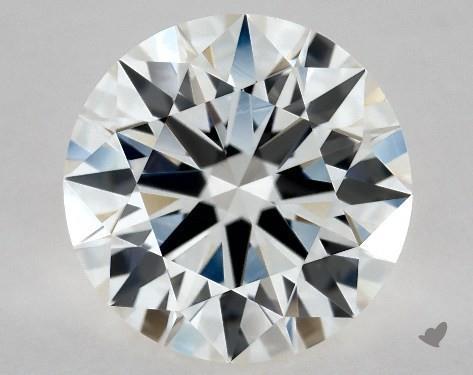 1.55 Carat H-VVS2 Excellent Cut Round Diamond