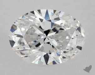 1.00 CARAT E-VS2 OVAL CUT DIAMOND