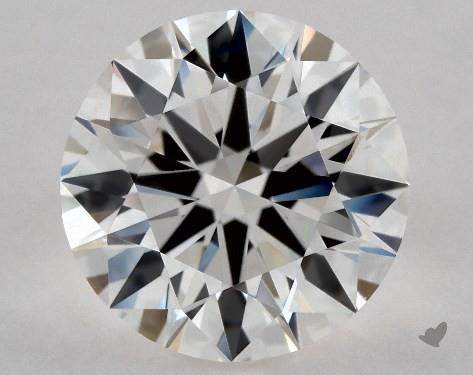 1.65 Carat H-IF Excellent Cut Round Diamond