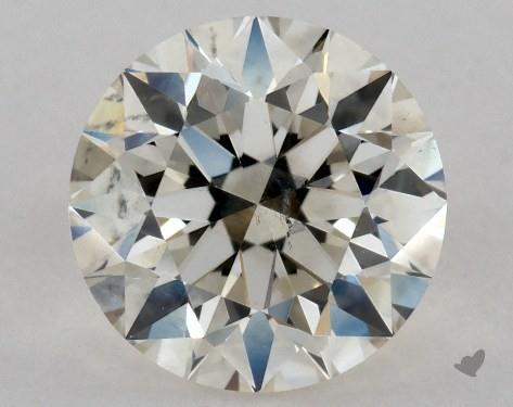 0.71 Carat L-SI2 Excellent Cut Round Diamond