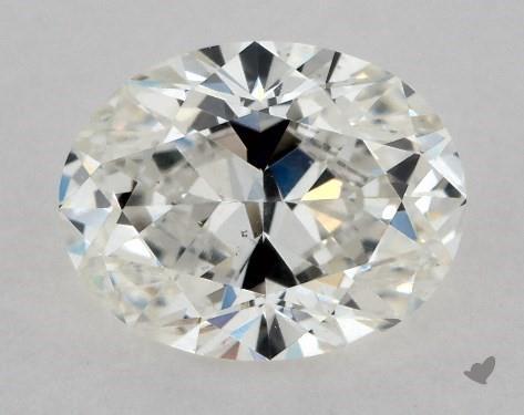 0.91 Carat H-VS2 Oval Cut Diamond