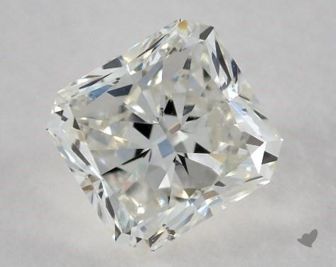 0.66 Carat H-SI1 Radiant Cut Diamond