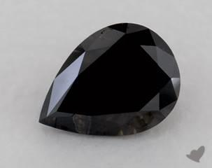 pear0.42 Carat Black