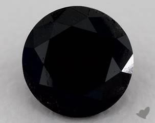 round1.59 Carat Black