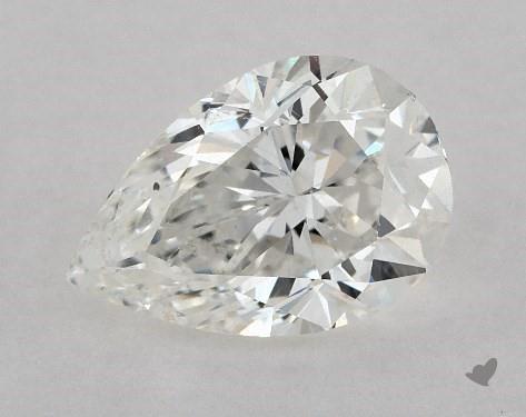 0.70 Carat G-SI1 Pear Shape Diamond