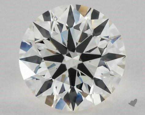 2.01 Carat J-IF Excellent Cut Round Diamond