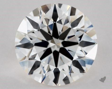 2.03 Carat I-VVS1 Excellent Cut Round Diamond