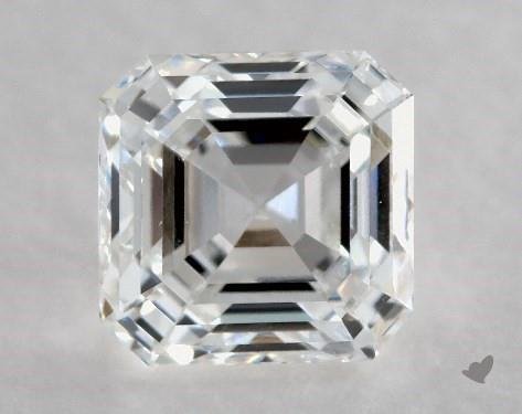 0.90 Carat E-VS2 Square Emerald Cut Diamond