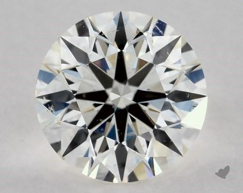1.77 Carat H-SI1 True Hearts<sup>TM</sup> Ideal Diamond