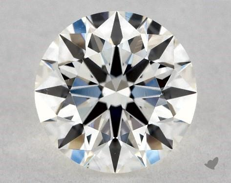 0.73 Carat H-VS2 Ideal Cut Round Diamond
