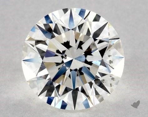 2.04 Carat J-SI1 Excellent Cut Round Diamond