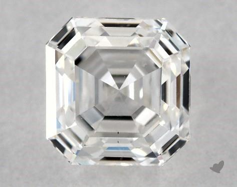 1.01 Carat F-VS2 Square Emerald Cut Diamond