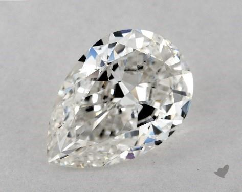 2.04 Carat G-SI2 Pear Shape Diamond