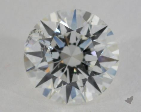 1.01 Carat H-SI2 Excellent Cut Round Diamond