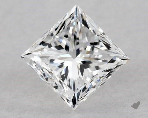 1.01 Carat D-IF Good Cut Princess Diamond