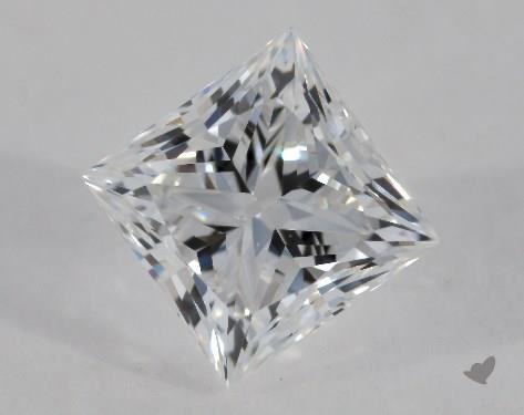 0.50 Carat E-SI1 Very Good Cut Princess Diamond