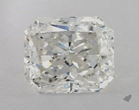 4.01 Carat H-VS2 Radiant Cut Diamond