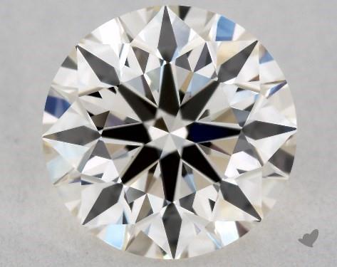 0.90 Carat J-VVS2 Excellent Cut Round Diamond