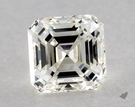 1.01 Carat J-SI1 Square Emerald Cut Diamond