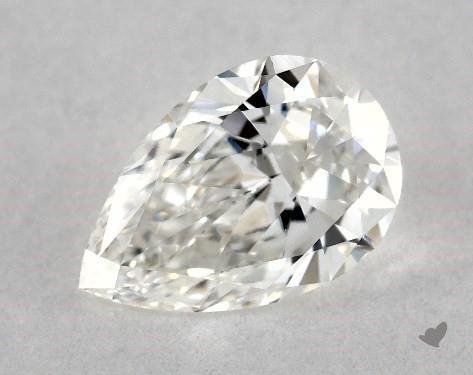 0.61 Carat G-VS1 Pear Shape Diamond