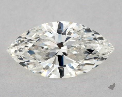 0.72 Carat H-SI2 Marquise Cut Diamond