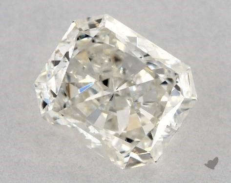0.80 Carat J-SI1 Radiant Cut Diamond