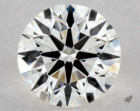 1.21 Carat J-VVS2 True Hearts<sup>TM</sup> Ideal Diamond