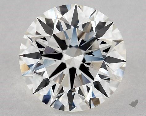 3.25 Carat H-SI1 Excellent Cut Round Diamond