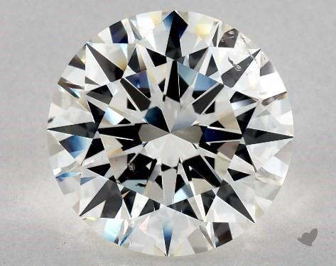 10.27 Carat H-SI1 Excellent Cut Round Diamond